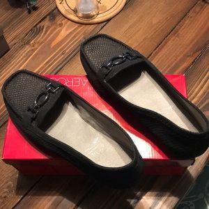 Aero soles memory foam loafers